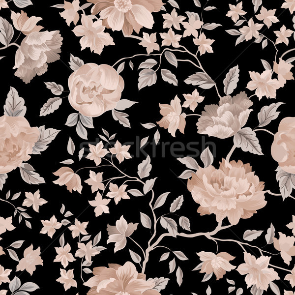 Floral seamless pattern. Flower background. Stock photo © Terriana