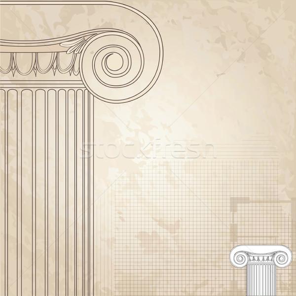 классический колонн римской архитектурный дизайна Сток-фото © Terriana