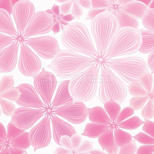Floral patrón flor sin costura florecer Foto stock © Terriana