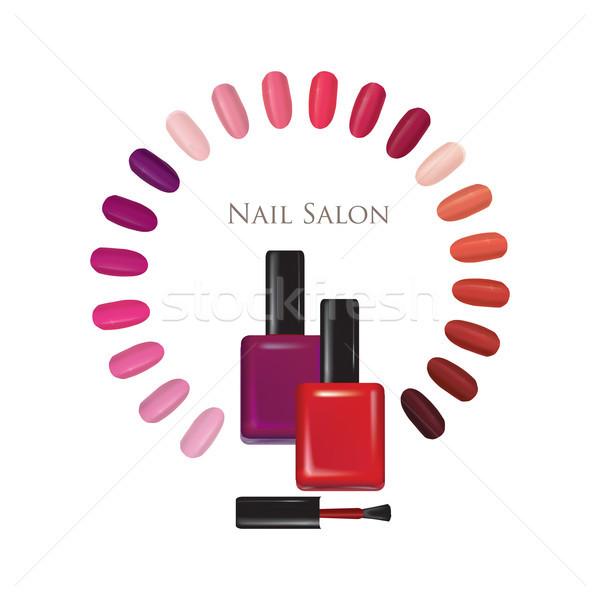 Cui Salon De Cosmetica Manichiură Cuie Lustruit Semna