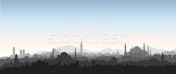 イスタンブール 旅行 トルコ トルコ語 都市 ストックフォト © Terriana