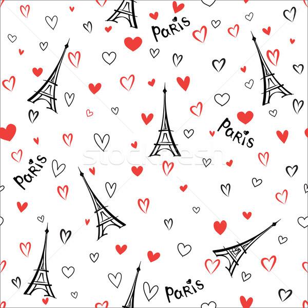 Podróży Francja Paryż miasta wakacje Zdjęcia stock © Terriana