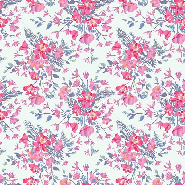 Floral jardin de fleurs fleurir jardin Photo stock © Terriana