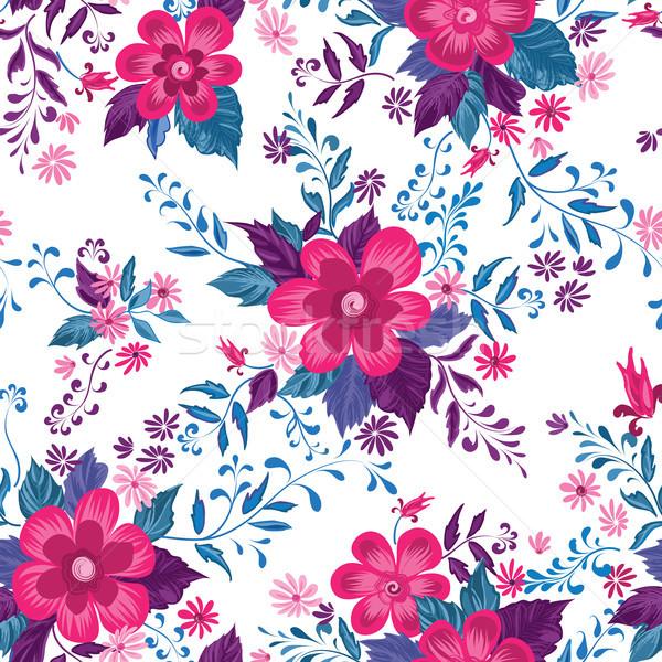Floreale abstract fiori fiorire Foto d'archivio © Terriana