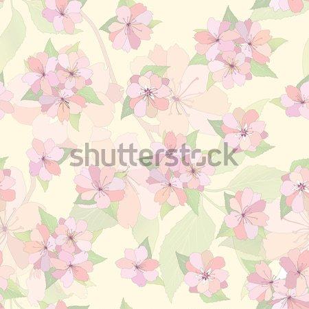 Bloem voorjaar tuin textuur Stockfoto © Terriana