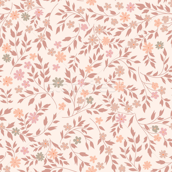Flower seamless pattern. Floral garden background Stock photo © Terriana