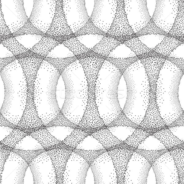 Dot tiled pattern Abstract linear circle texture Stock photo © Terriana
