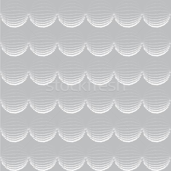 Naadloos geometrisch patroon abstract vector plakboek Stockfoto © Terriana