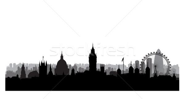 Londyn westminster pałac słynny Cityscape Zdjęcia stock © Terriana