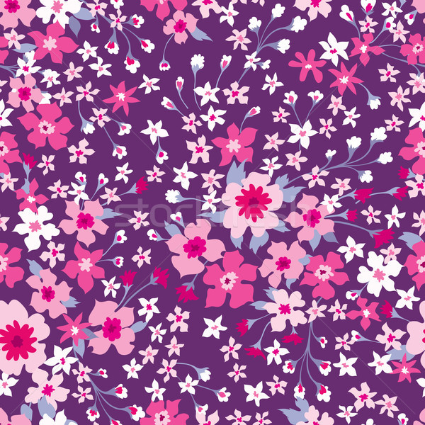 Floral seamless pattern. Flower background. Flourish wallpaper w Stock photo © Terriana