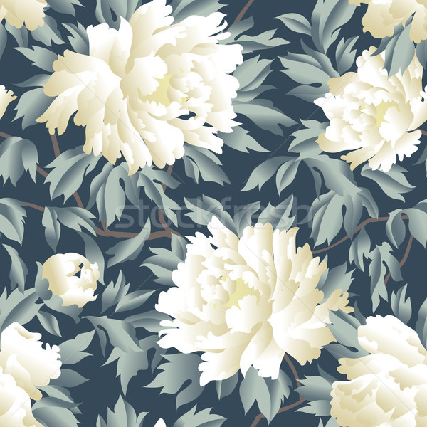 Floral seamless pattern. Flourish garden background. Fantastic f Stock photo © Terriana