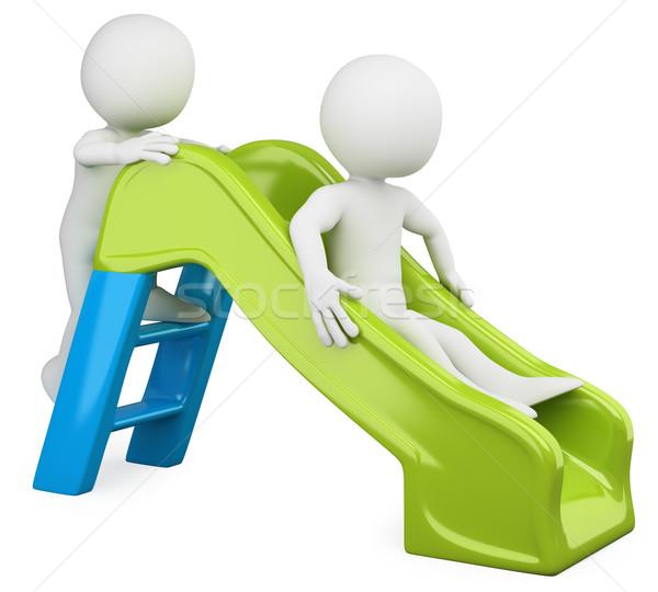 3D children - Slide Stock photo © texelart