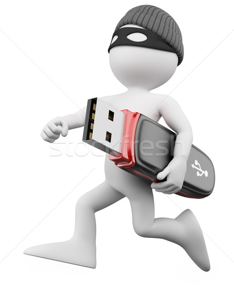 3D Thief - Hacker Stock photo © texelart