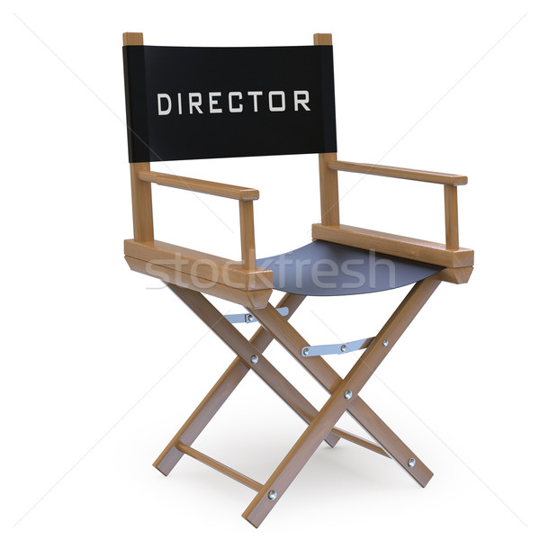 Film director's chair Stock photo © texelart