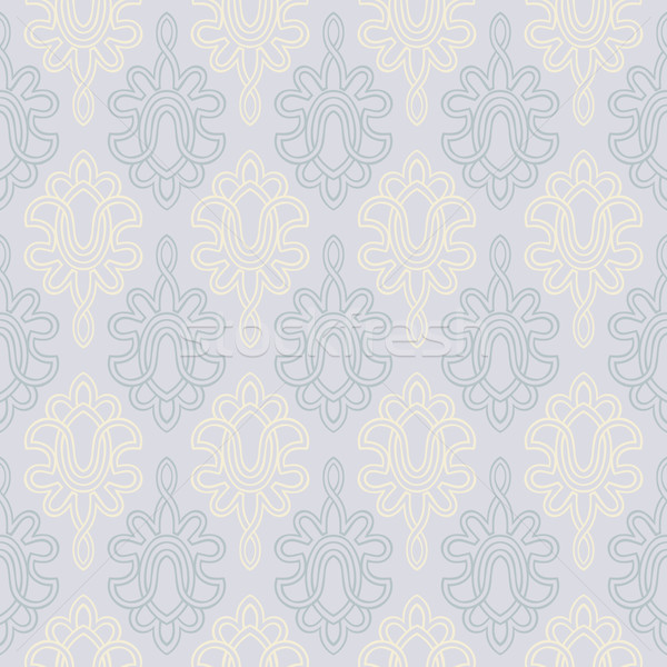 Seamless Victorian Wallpaper Stock photo © Theohrm