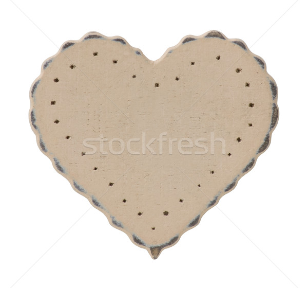 Wooden Heart  Stock photo © Theohrm