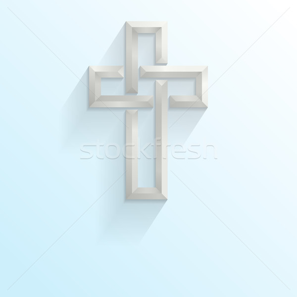 Easter Cross Stock photo © Theohrm