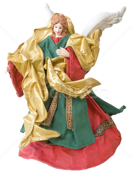 Isolated Christmas Angel Stock photo © Theohrm