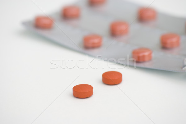 Pills Stock photo © Theohrm