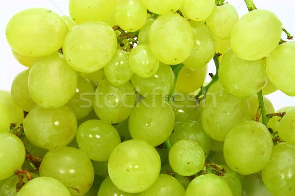 Druif shot seizoen- druiven bladeren witte Stockfoto © TheProphet