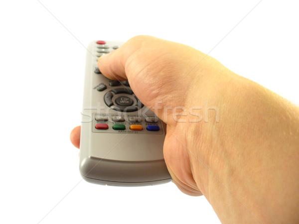 Hand controle knoppen Stockfoto © TheProphet