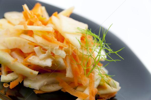 édeskömény saláta körítés répák almák fekete Stock fotó © TheProphet