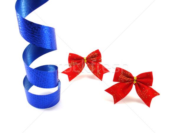 Fiesta decoración cumpleanos rojo cinta Foto stock © TheProphet