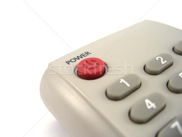 Macht knop sluiten Stockfoto © TheProphet