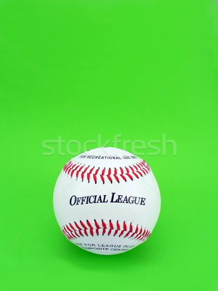 Officieel competitie baseball groene bal Rood Stockfoto © TheProphet
