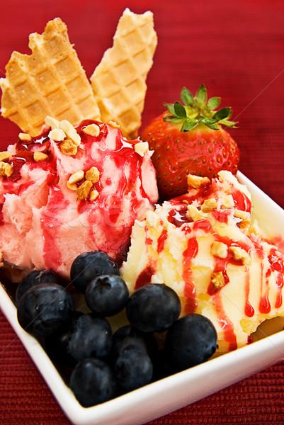 Ice Cream Sundae Stock photo © thisboy