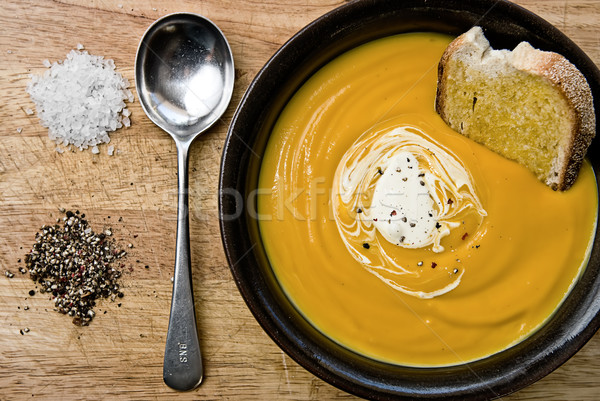 Pumpkin Soup Stock photo © thisboy