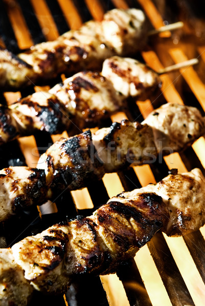 Flame Grilled Stock photo © thisboy