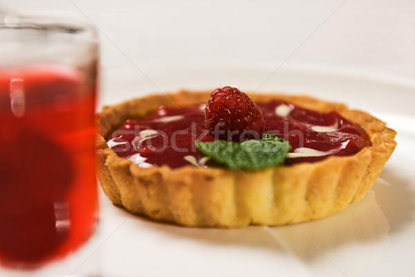 Raspberry Tart Stock photo © thisboy