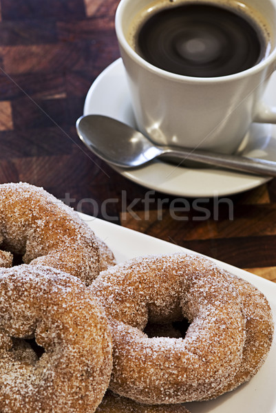 Donuts and Coffee Stock photo © thisboy