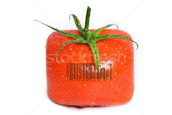 квадратный томатный капли воды изолированный капли Сток-фото © thisboy