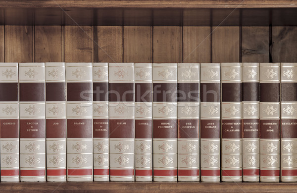 Bible Books Stock photo © thisboy