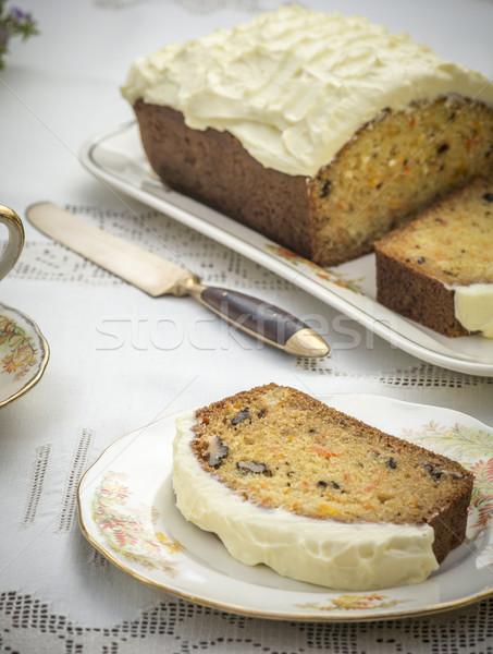 Homemade Carrot Cake Stock photo © thisboy