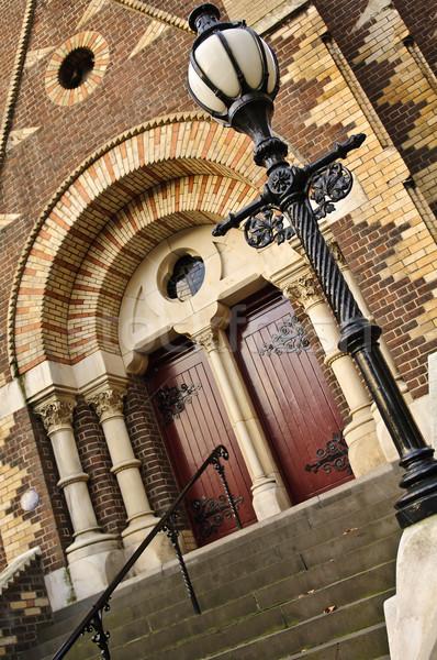 Церкви дверей шаги ведущий вверх вход Сток-фото © thisboy