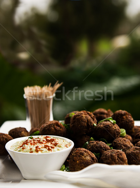 Meatballs Stock photo © thisboy