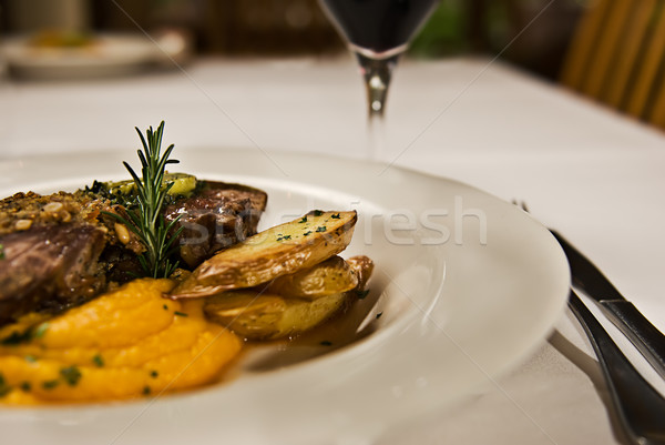 Stock photo: Restaurant Food