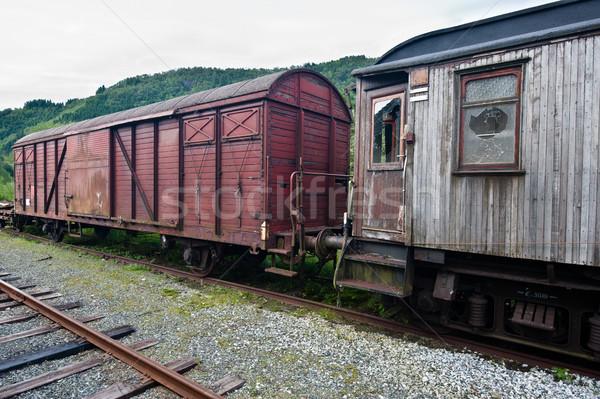 Old train Stock photo © thomland