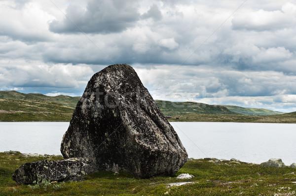 農村 自然 岩 環境 山 ストックフォト © thomland