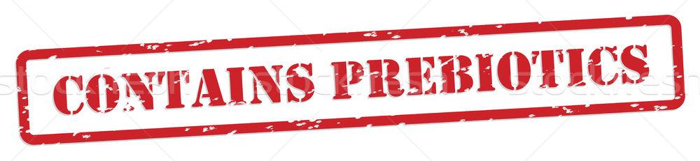 Prebiotics Rubber Stamp Stock photo © THP