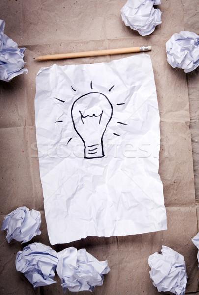 Creative Idea Concept Stock photo © THP