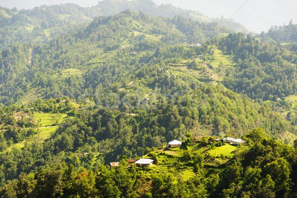 Гватемала пейзаж сельский деревне небе Сток-фото © THP