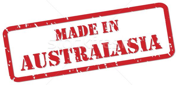 Australasia Stamp Stock photo © THP