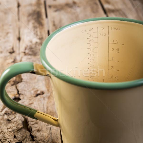Old Measuring Jug Stock photo © THP