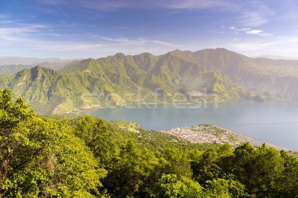 San Pedro Lake Atitlan Stock photo © THP