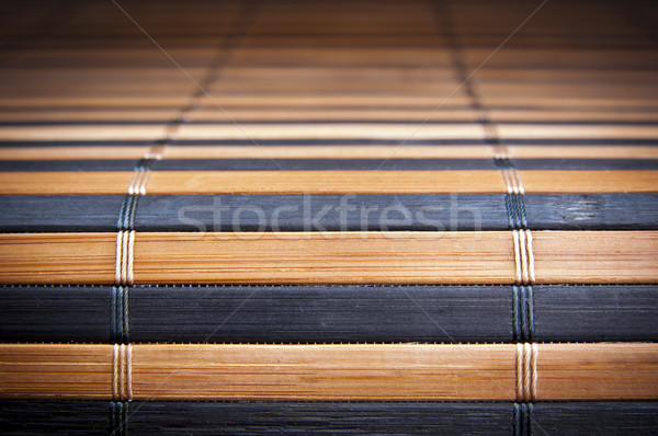 Bamboo Mat Texture Stock photo © THP