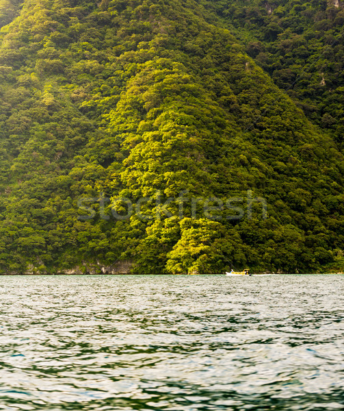 Boat on Lake Atitlan Stock photo © THP